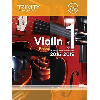 Violin 2016-2019. Grade 1 (score/pt/CD)