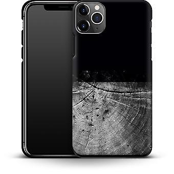 Holzmaserung Scheibe von caseable Designs Smartphone Premium Case Apple iPhone 11 Pro Max