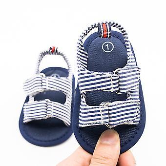 إصبع القدم الشريط بارد قماش لينة الوحيد طفل أول أحذية ووكر