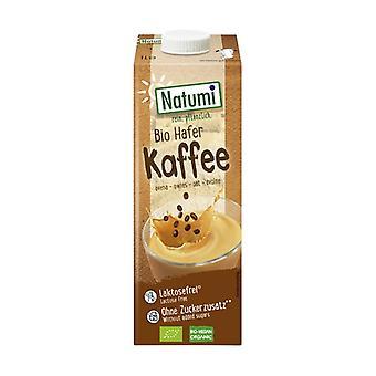 Organic oatmeal and coffee drink 1 L