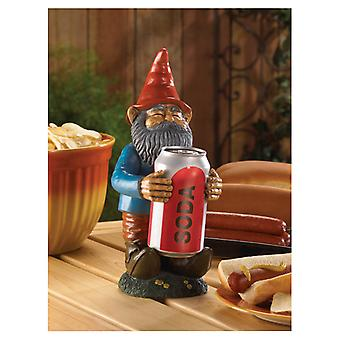 Summerfield Terrace Friendly Gnome Beverage Can Holder, Pack of 1