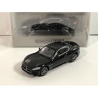 Minichamps 870123124 Maserati Granturismo 2018 Svart 1:87 Skala