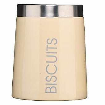 Storage tanks conical biscuit canister - cream