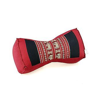 Bone Shape Neck Pillow Meditation Cushion Kapok Filled