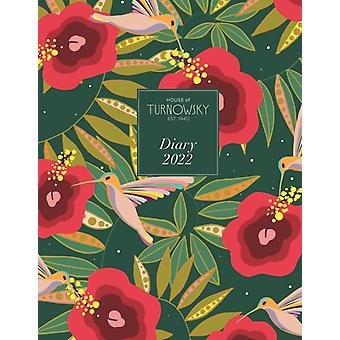 House of Turnowsky Deluxe A5 Diary 2022 by Edited by House of Turnowsky