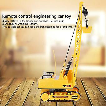 12 Ch Rc Excavator Electric Engineering Vehicles Light & Music Digger Toys