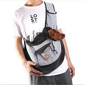Cat Bag, Pet Bag, Outing Carry Bag, Breathable Backpack For Travel Portable Shoulder Bag, Gray 36 * 13 * 28cm