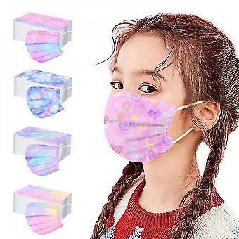 50pcs Kids Disposable Face Mask Childrens
