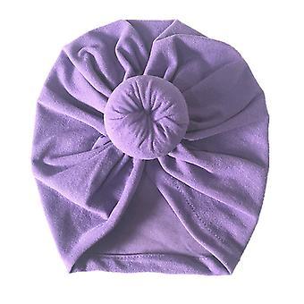 Newborn Baby Knot Turban Headwrap Infant Kid India Wrap Beanie Cap Hat