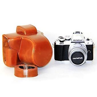 オリンパスEm10マークII Em10マークIII Em10 III Iii Em10 IIレザーカメラケースカバー肩ストラップ用Puレザーカメラバッグ