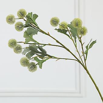 4 Small Artificial Artificial Fruit Hydrangea, Home Decoration Ornaments (beige White)