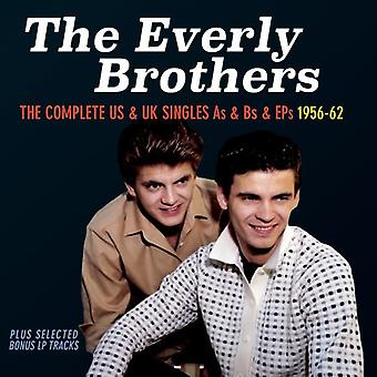 Everly Brothers - Everly Brothers-komplett oss & Uk enda [CD] USA import