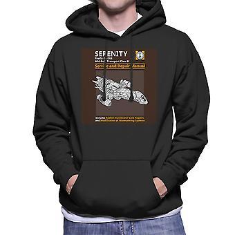 Serenity Service And Repair Manual Firefly Men's Hooded Sweatshirt