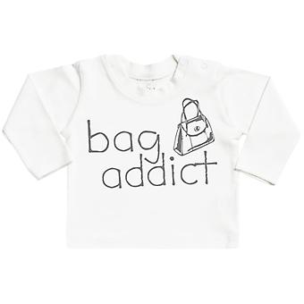 Spoilt Rotten Bag Addict Long Sleeve Baby T-Shirt Top