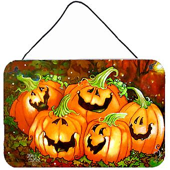 Such a Glowing Personality Pumpkin Halloween Wall or Door Hanging Prints