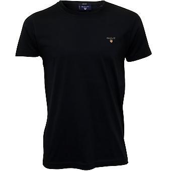 Gant Original Solid Crew-Neck T-Shirt, Navy