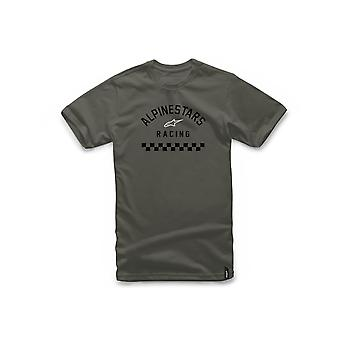 Alpinestars Front Short Sleeve T-Shirt in Military