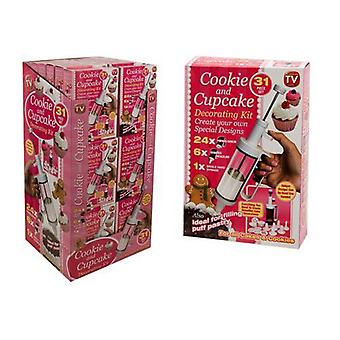 31pc Cookie and Cake Decorating Set