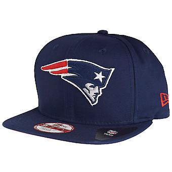 New Era Original-Fit Snapback Cap - New England Patriots