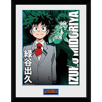 My Hero Academia Izuku Midoriya Framed Collector Print