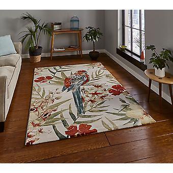Tropen 6093 crème Multi rechthoek tapijten Funky tapijten