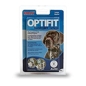 HALTI Dog OptiFit Headcollar, Large 48-68cm