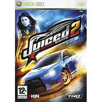 Juiced 2 Hot Import Nights (Xbox 360)-fabriek verzegeld