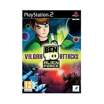 Ben 10 Alien Force Vilgax attacker (PS2)-fabriken förseglad