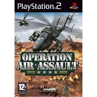 Operation Air Assault (PS2) - Ny fabrik förseglad