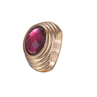Joop kvinders ring rustfrit stål Rosé SELENA JPRG10624C1