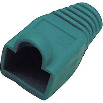 BKL Electronic Kink protection sleeve RJ45 plug 143061 Bend relief Green 1 pc(s)