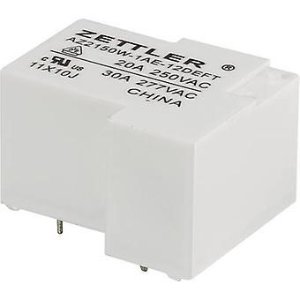 Zettler Electronics AZ2150W-1AE-12DEFT PCB relay 12 V DC 30 A 1 maker 1 pc(s)