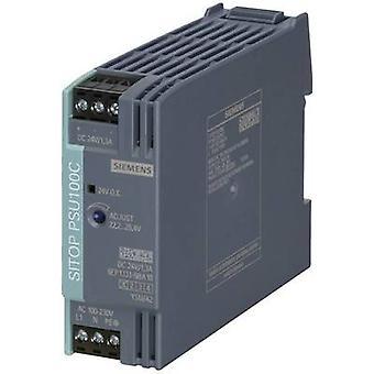 Siemens SITOP PSU100C 24 V/1,3 A Rail mounted PSU (DIN) 24 V DC 1.3 A 30 W 1 x