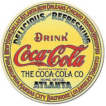 Кока-Кола бочонок конец круглый магнит холодильник