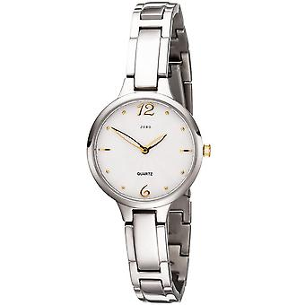 Stretta JOBO ladies orologio da polso al quarzo analogico titanio orologio da donna con bracciale stretto