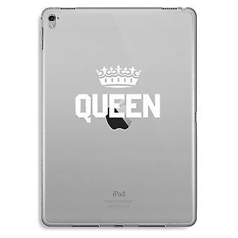 iPad Pro 9,7 tommers gjennomsiktig sak (myk) - Queen svart