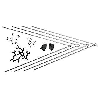 SKS met SECU clip fender stutten (set) / / voor Chromoplastics