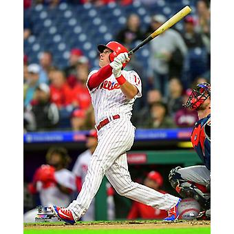 Rhys Hoskins 2018 Action Photo Print