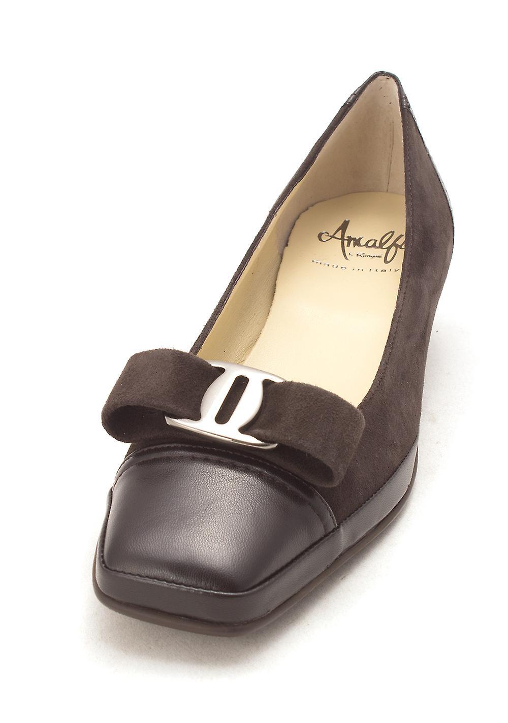 Amalfi by Rangoni Womens Mambo Leather Square Toe Classic Pumps