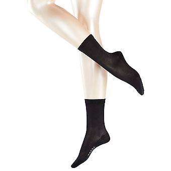 Falke Sensual Silk Midcalf Socks - Black