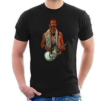 TV Times Joe Strummer The Clash Live Men's T-Shirt