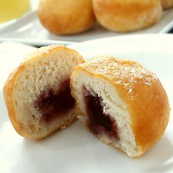 Kara Frozen Sugared Ball Jam Doughnuts
