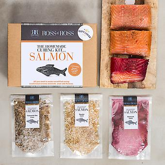 Homemade Curing kit … Salmon