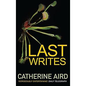 Last Writes by Catherine Aird - 9780749016272 Book