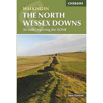 Walking in the North Wessex Downs by Steve Davison - 9781852847289 Bo