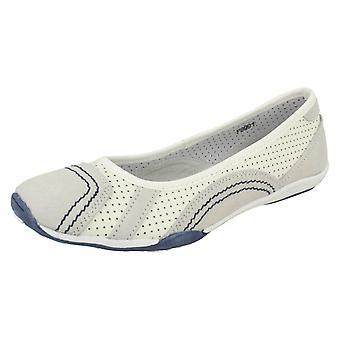Naiset maanläheinen asunto Ballerina kengät F8991