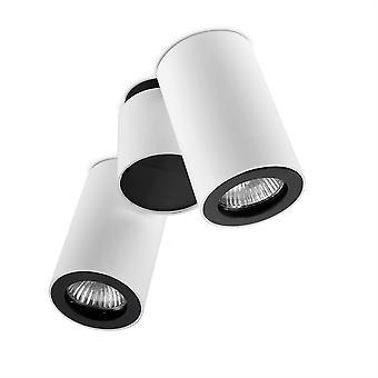 Pipe justerbar dubbel taklampa - lysdioder-C4 15-0074-14-05