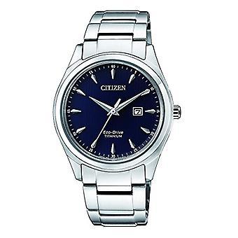 Citizen watch ladies Solar Classic Analog Bracelet Watch with Titanium EW2470-87L