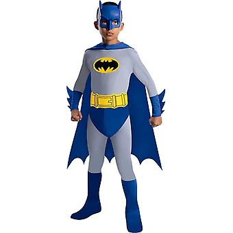Boys Blue Batman Costume For Kids