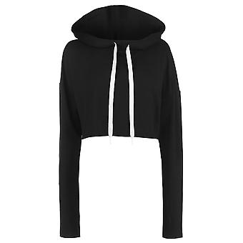Reebok Womens Crop Hoodie Ladies